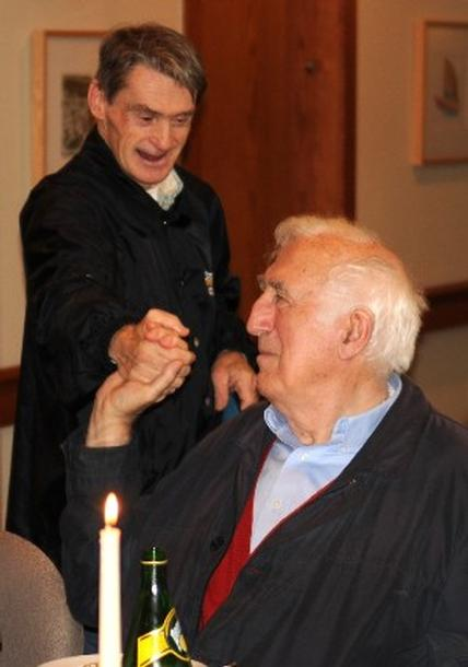 Remembering Jean Vanier (10 September 1928 – 7 May 2019) founder of the world-wide L'Arche Communities and of the Faith and Light communities: one of the great visionaries and humanitarians of our time who invited us to understand disability in entirely new ways.