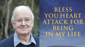 Bless you heart attack for being in my life: Wrestling with death, health, self and spirit, a new book by Eremos founder Bishop Bruce Wilson, was launched in Sydney on 1 December 2019. Over 100 people attended the event hosted by Eremos and St James King Street.
